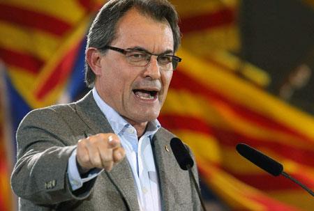 artur mas europa catalan