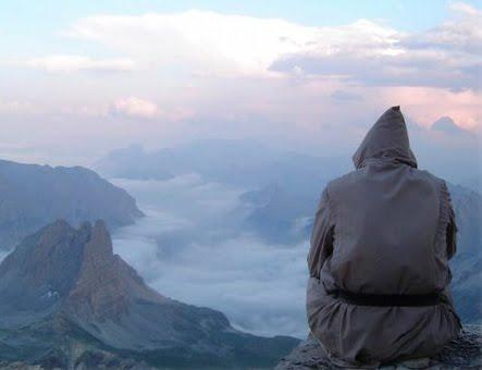 vivir es ver volver contemplacion espiritual ermitaño