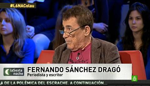 Fernando Sánchez Dragó en laSexta Noche