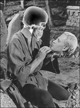 Hamlet y la calavera invertidos