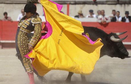 jose tomas toros corrida nimes drago seis