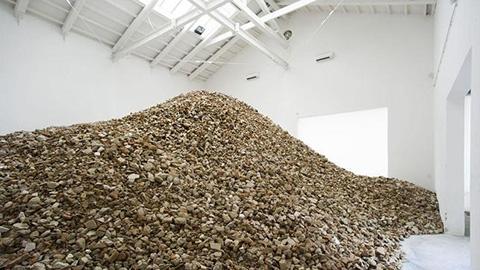 Obra de Lara Almarcegui para la Bienal