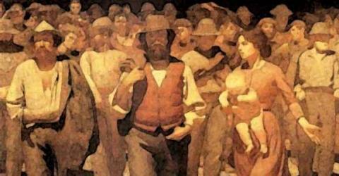 Novecento lucha de clases