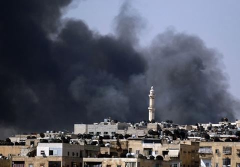 rebeldes sirios luchan alepo dicen quedando municion