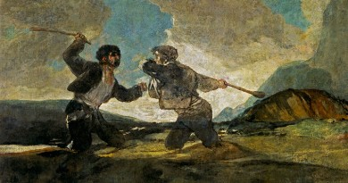'Duelo a garrotazos', de Goya