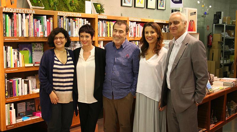Rueda de prensa de 'Libros con uasabi', con Isabel Fuentes, Anna Grau, Fernando Sánchez Dragó, Ayanta Barilli y Samuel Martín