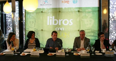 Rueda de prensa de 'Libros con uasabi'