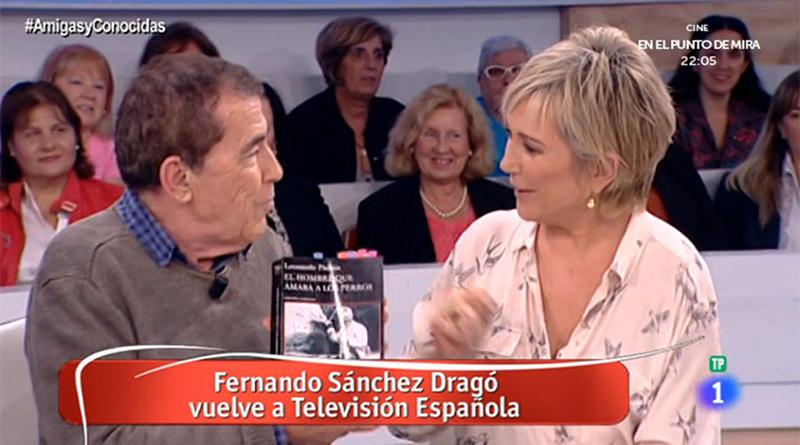 Fernando Sánchez Dragó en 'Amigas y conocidas'
