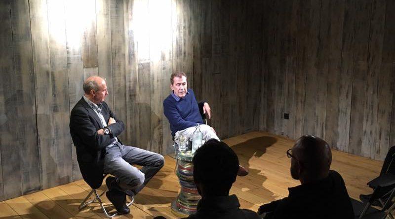 Presentación en Madrid de 'Shangri-La: el elixir de la eterna juventud', con Fernando Sánchez Dragó